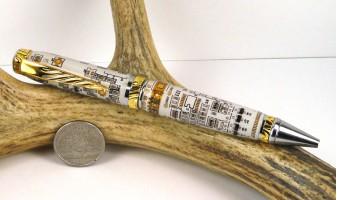 White Circuit Board Ultra Cigar Pen