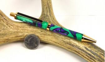 Purple Monster Slimline Pro Pen