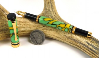 Lemon Lime Ameroclassic Fountain Pen
