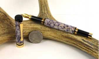 Purple Pebble Ameroclassic Fountain Pen