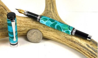 Sea Foam Ameroclassic Fountain Pen
