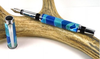 Sea Foam Jr Gentleman Fountain Pen