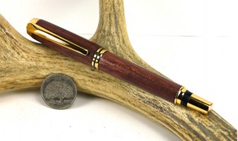 Purpleheart Jr Gentleman Fountain Pen