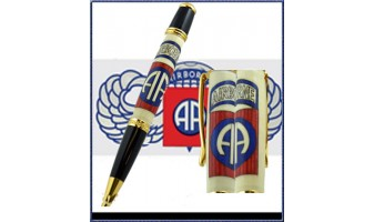 82nd Airborne Inlay Pen