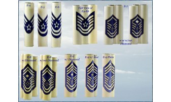 Air Force Enlisted Ranks Inlay Pen