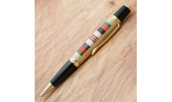 Afghanistan Service Ribbon Inlay Pen