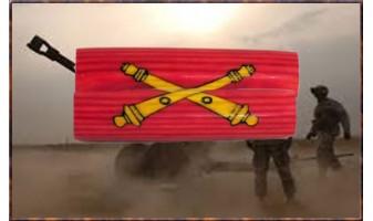 Army Artillery Inlay Pen