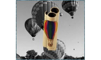 Hot Air Balloon Inlay Pen
