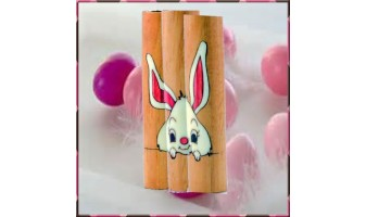 Bunny Inlay Pen