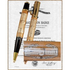 Combat Action Badge Inlay Pen