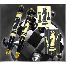 Chess Inlay Pen