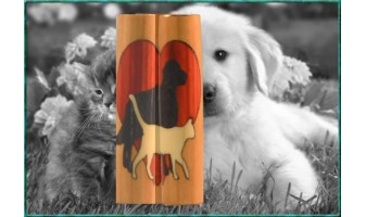 Animal Lover Inlay Pen