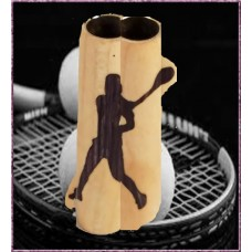 Female Tennis Player Inlay Pen