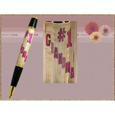 #1 Grandma Inlay Pen