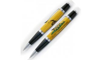 Gadsden Flag Inlay Pen