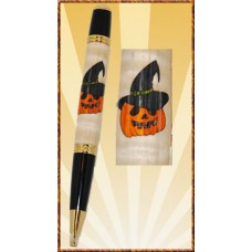 Jack-O-Lantern Inlay Pen