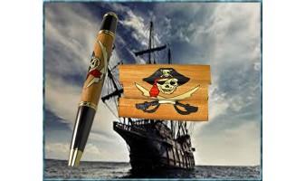 Pirate Inlay Pen