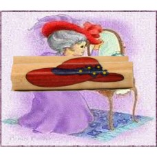 Red Hat Society Inlay Pen