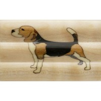 Beagle Inlay Pen