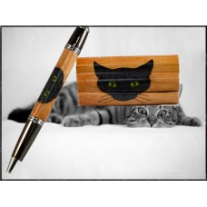 Cat Inlay Pen