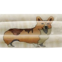 Welsh Corgi Inlay Pen