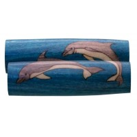 Dolphins Inlay Pen