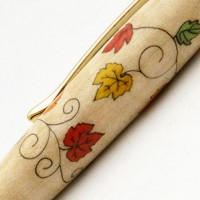 Fall Leaves Inlay Pen