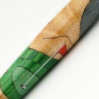 Golfer Inlay Pen
