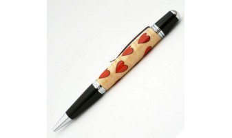 Hearts Inlay Pen