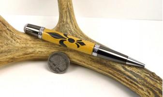 Fleur-De-Lis Inlay Pen