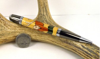 Elk Inlay Pen