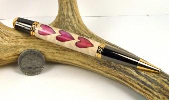 Hearts Inlay Pen