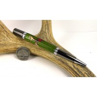 Peeking Rudolph Inlay Pen