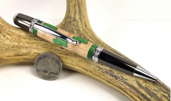 Shamrock Inlay Pen