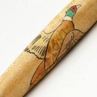 Pheasant Inlay Pen