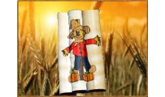 Scarecrow Inlay Pen