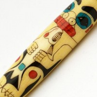 Totem Pole Inlay Pen