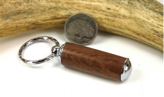 Rosewood Pill Case