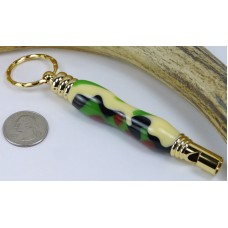 Jungle Camo Secret Compartment Whistle