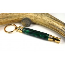 Green Marble Secret Compartment Whistle