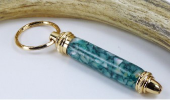 Forest Pebble Toolkit Key Chain