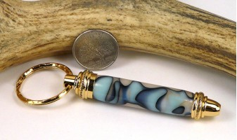 Turquoise Moon Toolkit Key Chain