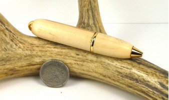 Flame Box Elder Mini Bullet Pen