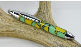 Lemon Lime Mini Click Pen