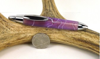 Wisteria Mini Click Pen