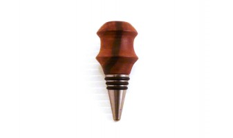 Brazilian Walnut Bottle Stopper