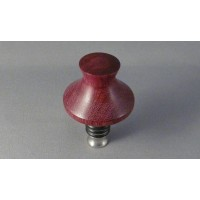 Purpleheart Bottle Stopper