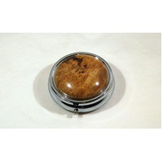 Cherry Burl Pill Box