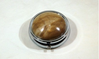 Maple Burl Pill Box