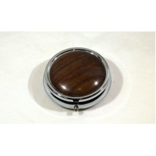 Walnut Pill Box